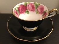 Royal Albert Old English Rose with Black Matte finish  Burnaby, V5H 2H2