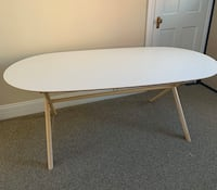 White oval table  Denver, 80203