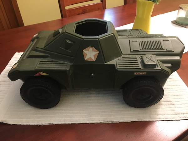 Vintage Action Man Armored Car  Mfg by Irwin Toys