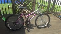 gray and pink hardtail mountain bike Attleboro, 02703