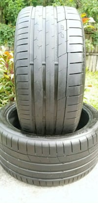 Two 235/40/19 CONTINENTAL EXTREME CONTACT DW Tampa, 33602