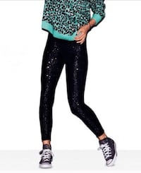 NBW! PINK Victoria's Secret Sequined Leggings