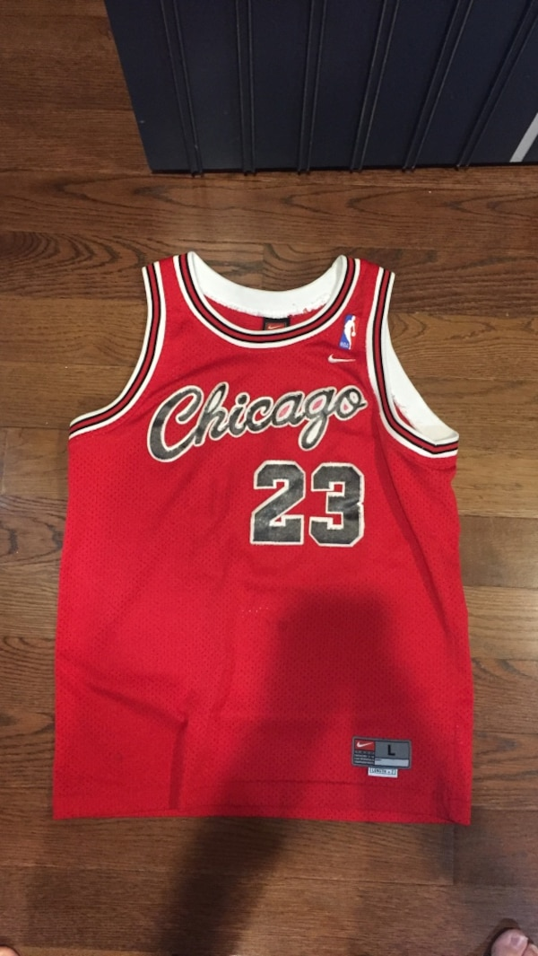 995fe2bf12001d Used Vintage Michael Jordan stitched jersey for sale in East Rockaway