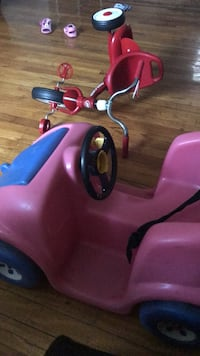 toddler's pink and blue trike Mount Rainier, 20712