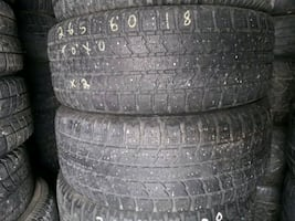 265/60R18 Toyo Observe Gsi-5 Winter Pair of 2