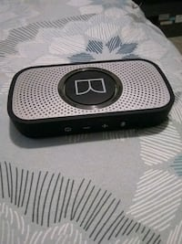 black and gray portable speaker 3727 km