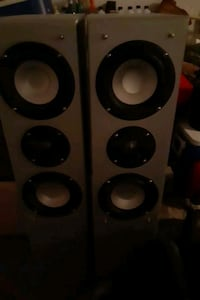 Theater Research tower speakers