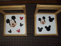 Children's Chairs- (2)- Mickey Mouse Franklin