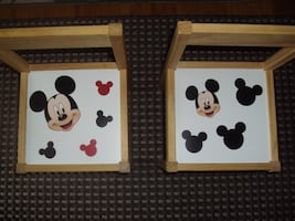 Children's Chairs- (2)- Mickey Mouse