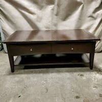 Solid wood  two drawer coffee table Anchorage, 99518