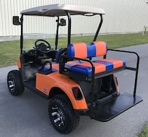 Everybody Favorit Road king Golf Cart Condition Good.