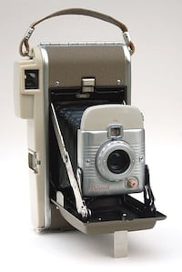 Authentic polaroid land camera vintage