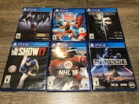 PS4 games new sealed Edmonton, T5T 6V3
