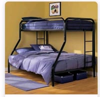 Bunk beds & both mattress for sale. Runnemede, 08078