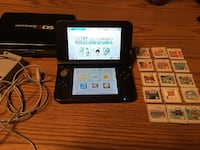 3DS XL Like-New + 15 Games + Case and Charger, Stylus 4GB SD Card 269 mi