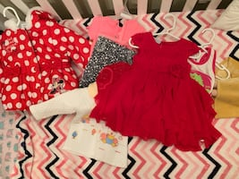 Baby girl cloth 0-12 month