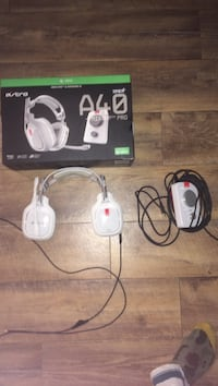 White a40 gaming headset