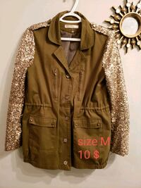 women's brown button up jacket Calgary, T3G 4A9