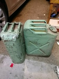 Jerry cans wwll $50 Wellington, 80549