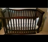 4 in 1 Crib with Mattress Winnipeg, R2L 1L3
