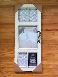 White wooden picture frame Dollard-des-Ormeaux, H9A 1K5