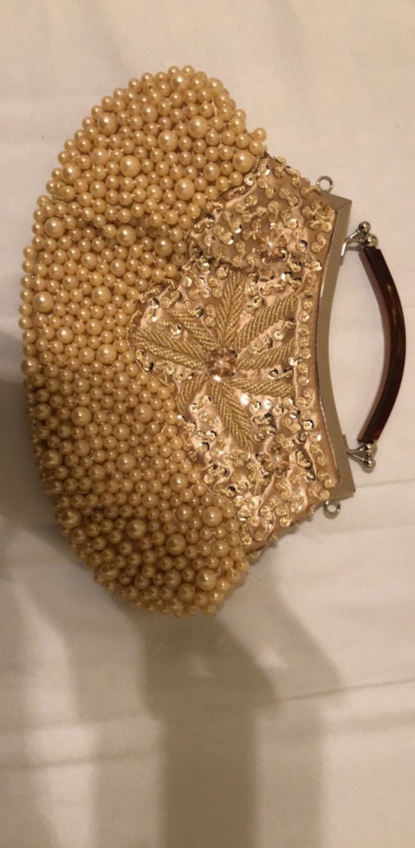 Pearl Sequined Purse