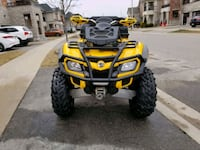 2012 Can am Outlander 800 XT Burlington, L7M 0N7