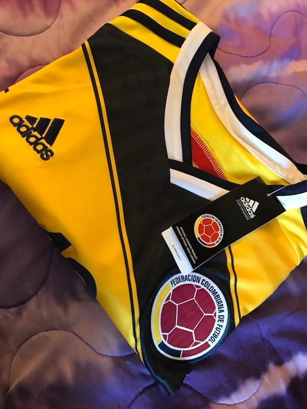 9a920aced34 Used James Colombia Home Jersey for sale in San Jose - letgo
