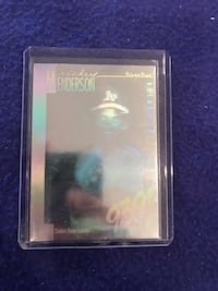 1991 Upper Deck Hologram Rickey Henderson Baseball Card Calgary, T2M 2P2