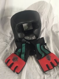 Boxing helmet and bag gloves Las Vegas, 89144