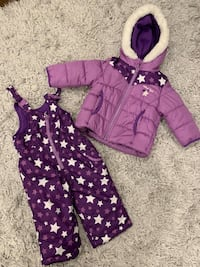 Oshkosh girl's 12 month snowsuit set Pickering, L1V 6L2