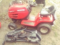 red and black ride-on mower Columbus, 43213