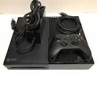 Black xbox one console with controller West Bloomfield, 48324