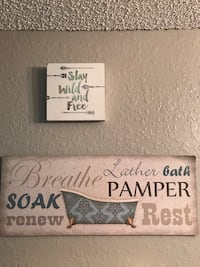Bathroom wall decor  Tallahassee, 32308