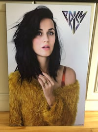 Katy Perry laminated poster Montréal, H8T 2V8