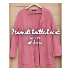 Hanneli knitted coat