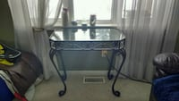 Wrought Iron/glass hallway table Kawartha Lakes, K0L 2W0
