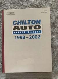 Chilton's Auto Manual domestic cars from 1998 to 2002 Victorville
