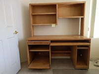 Computer Desk & Shelf Unit