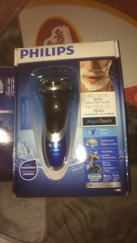 black and blue Philips shaver box Kitchener, N2G 2S6