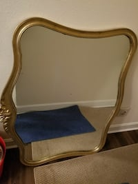 Antique mirror/ has been painted- heavy