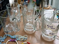 clear glass pitcher and drinking glasses North Potomac, 20878