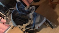 Baby's blue and gray stroller Port Coquitlam, V3B 4R4