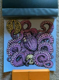 O is for Octopus print Perrysburg, 43551