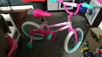 toddler's pink and white bicycle Baton Rouge, 70817