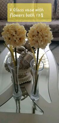 white and brown floral table lamp Brampton, L6R