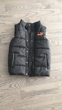 Boys puma winter vest size 7 Dorval
