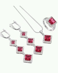 New S925 stamped silver jewellery set Calgary, T1Y 2G5