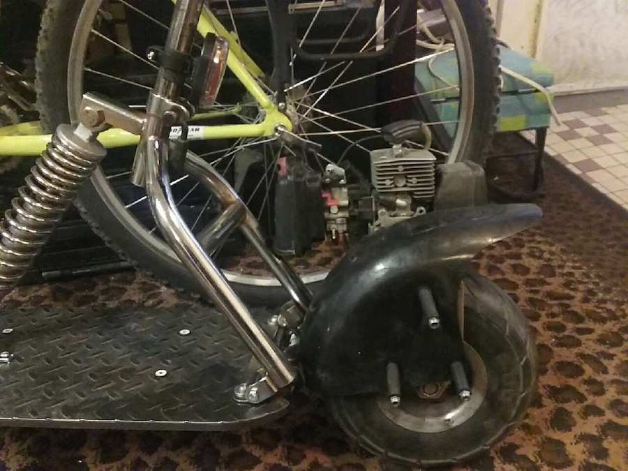 stainless steel scooter back brake