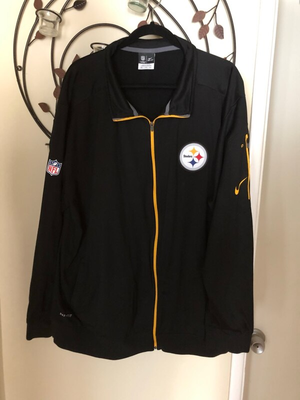 uk availability 6270c fbb8a Pittsburgh Steelers Nike Dri-Fit Jacket